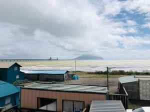 海と函館山